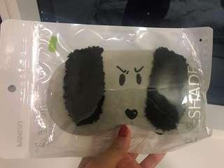 Cute puppy eye mask