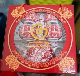 結婚用品 敬茶用品 敬茶茶具 喜字紙杯