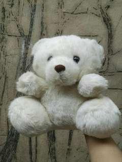 White bear stuffed toy