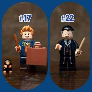 Lego 71022 Minifigures Fantastic Beasts Newt Scamander & Percival Graves Crimes of Grindelwald Wizarding World Not Harry Potter Not Brickheadz