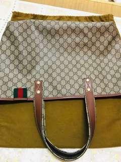 Gucci 經典托特包
