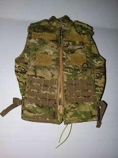 """Soldier Story mulitcam US Army Future Combat Systems Testing Team vest 1/6 12"""""""