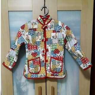 Little Girl Quilted Jacket
