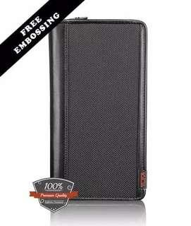 Dompet Tumi Alpha zip -around travel wallet