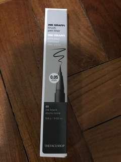 Face shop Ink Graffi eye liner black