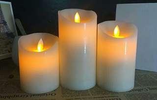 LED风動電子蠟燭