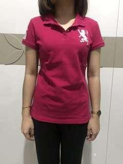 Giordano Polo T-shirt Pink Fuschia #6