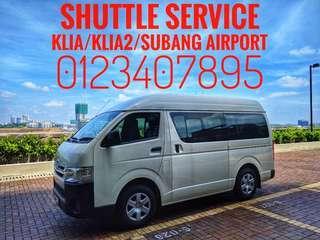 Airport Transfer Van Rental Shuttle Service