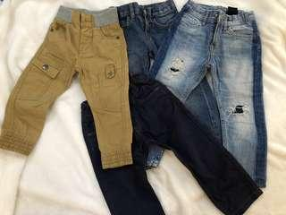Assorted branded toddler boys clothes (Gap,Old Navy,H&M,Zara,Mothercare etc)