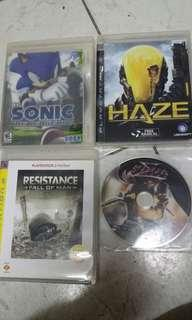 PS3 Game($120四隻)