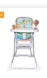 Foldable baby highchair