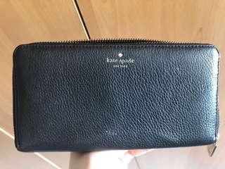 Kate Spade long zip wallet