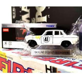 TOMICA LIMITED NO.0024 NISSAN SKYLINE 2000 GT-B ( JAPAN GP RACE ) - RARE