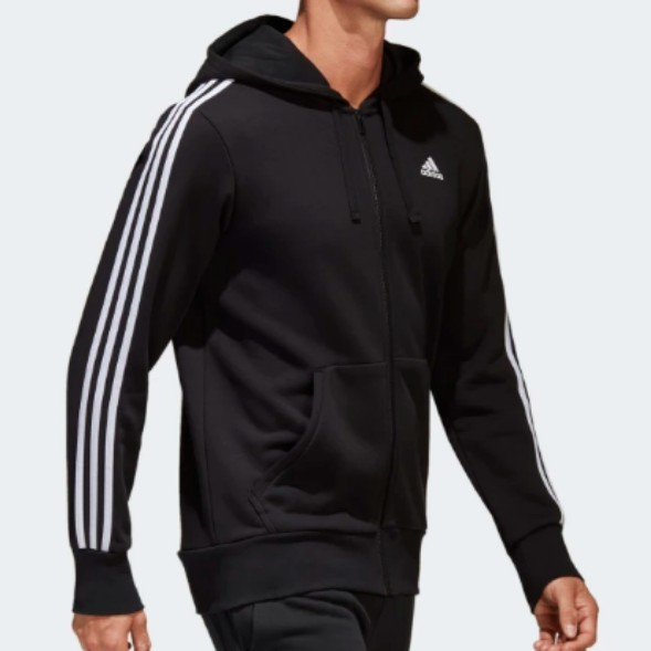 3cadd8a7f37d RUSH!! Adidas 3 Stripe Oversize Jacket   Hoodie