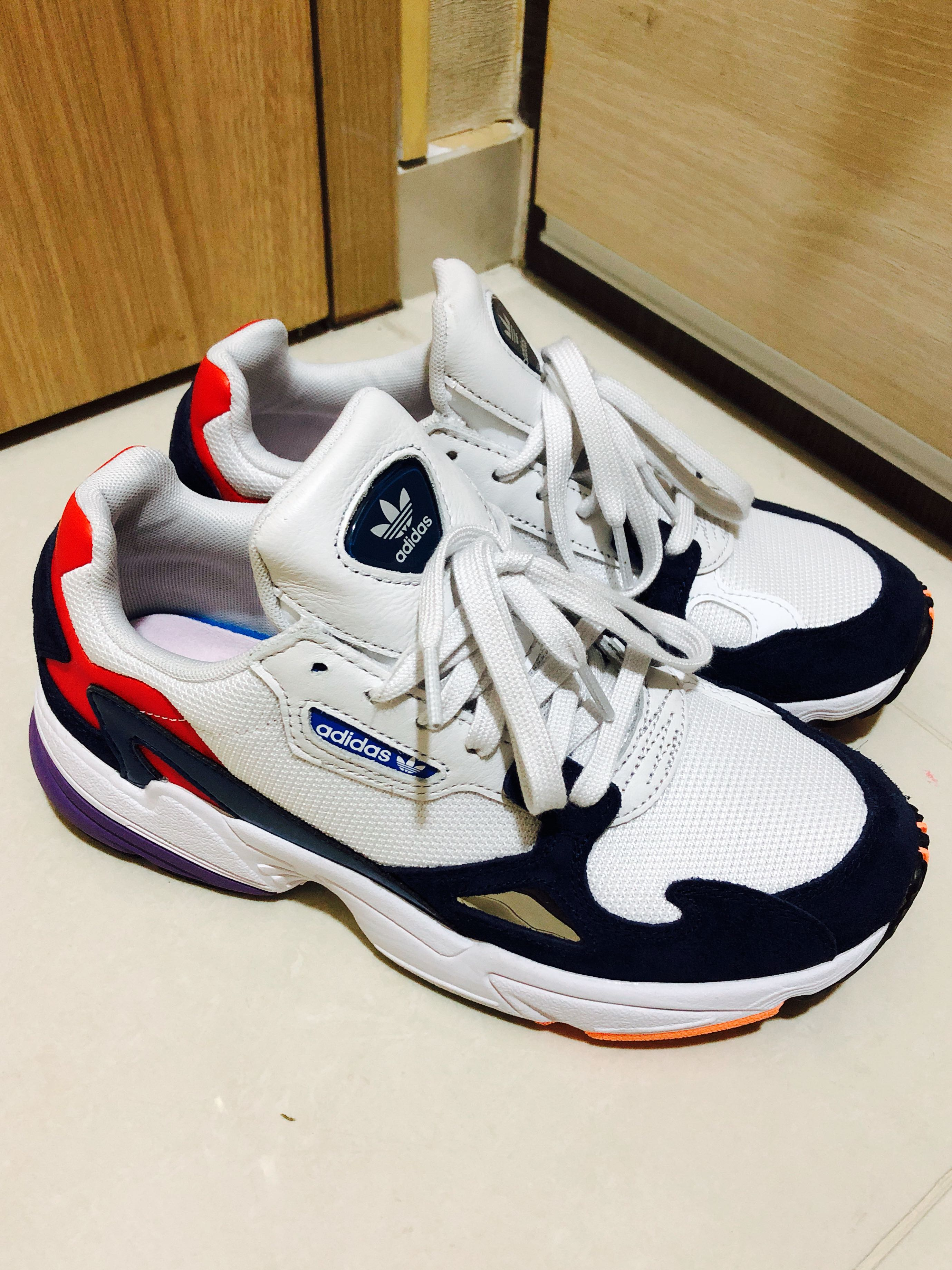 best sneakers 6e695 46a6e Adidas Falcon shoes, Womens Fashion, Shoes, Sneakers on Caro