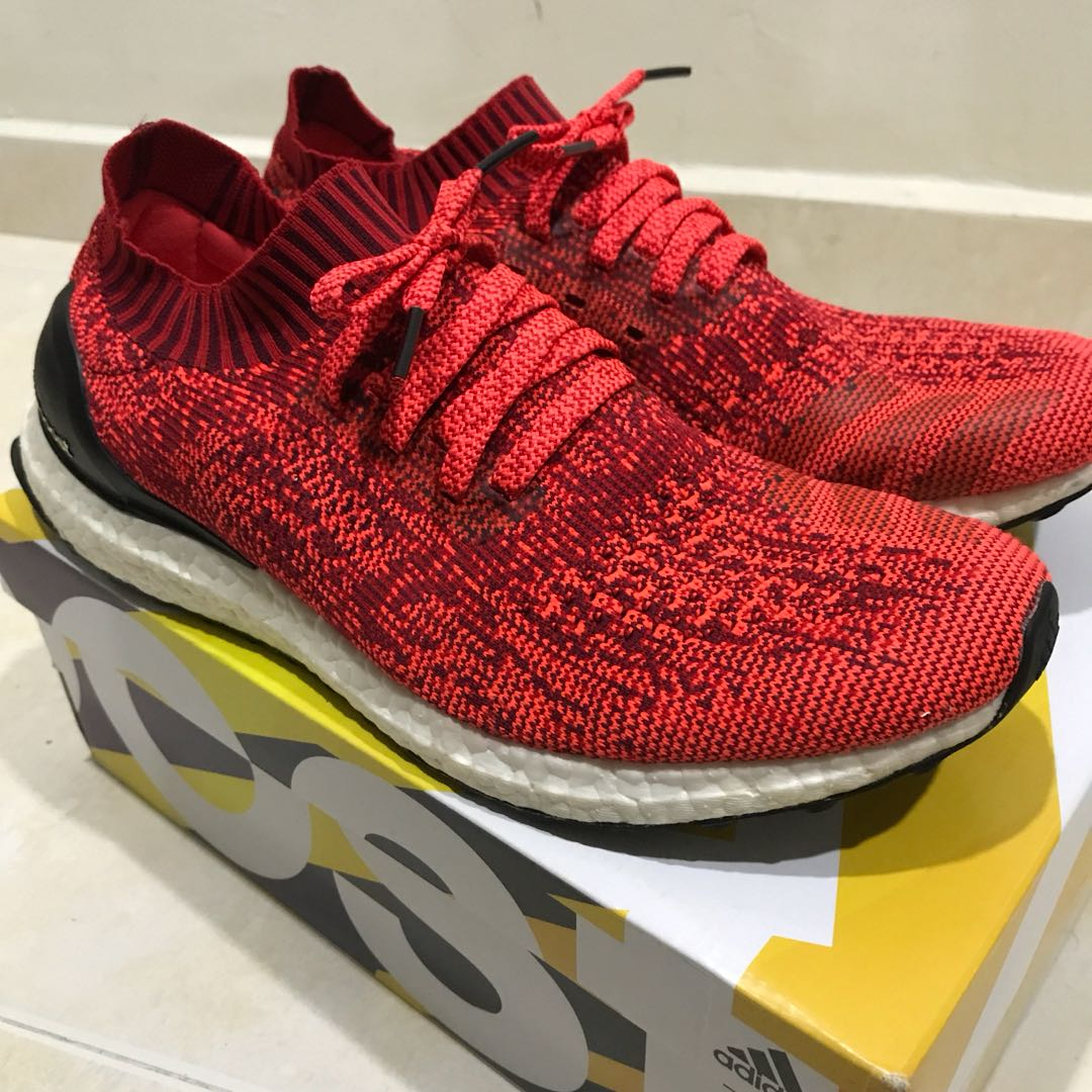 7c5e70ba6 Adidas Ultra Boost Uncaged Solar red