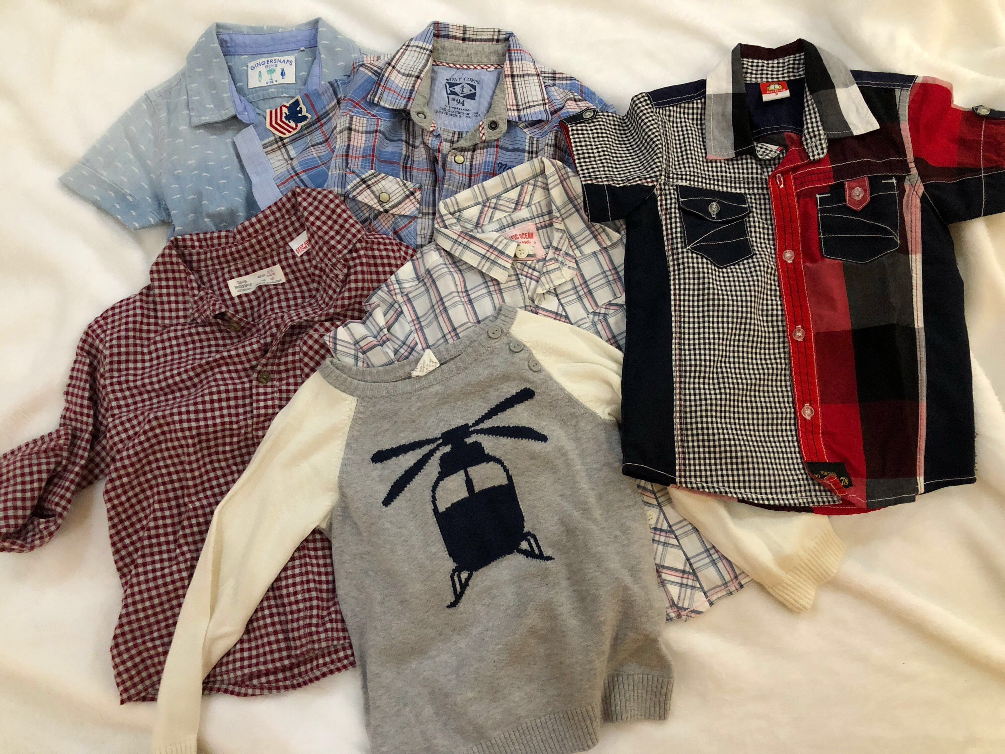 e4f37165531 Assorted branded toddler boys clothes (Gap
