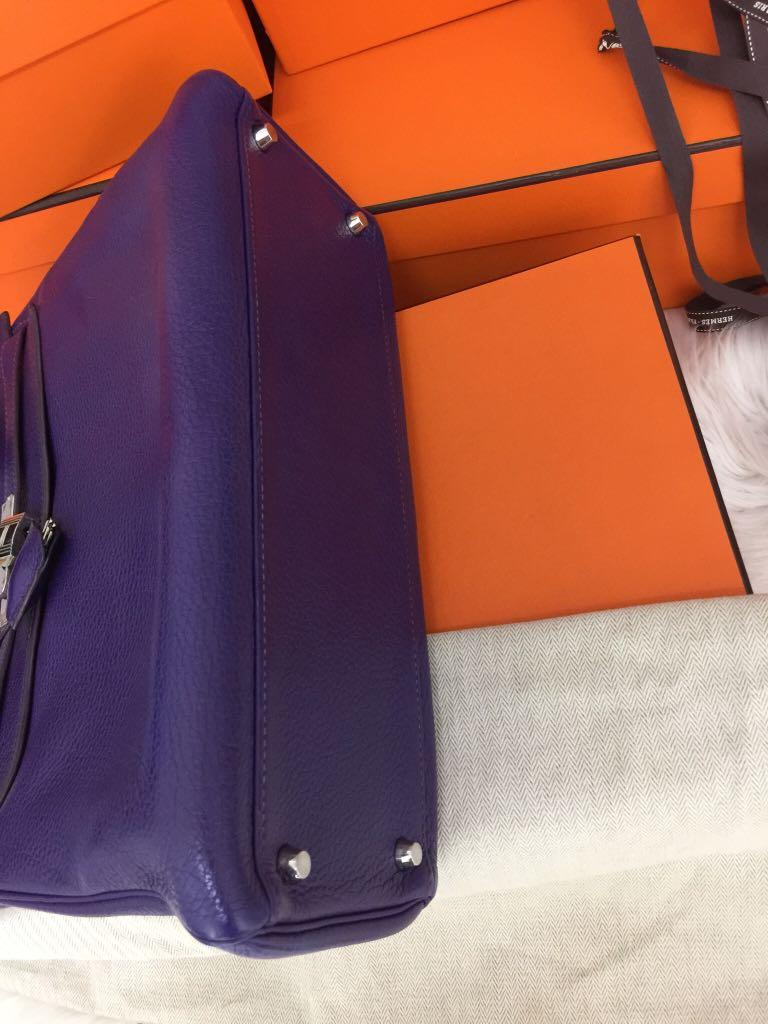 Authentic Hermes Kelly 32+Twilly