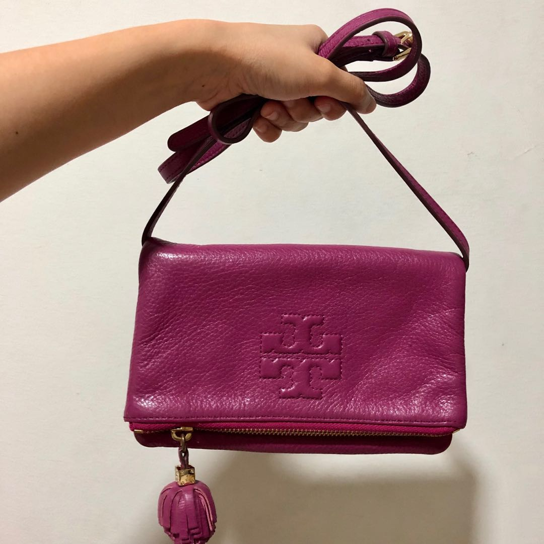 ed822cea58e Authentic Tory Burch Sling Bag, Luxury, Bags   Wallets, Sling Bags ...