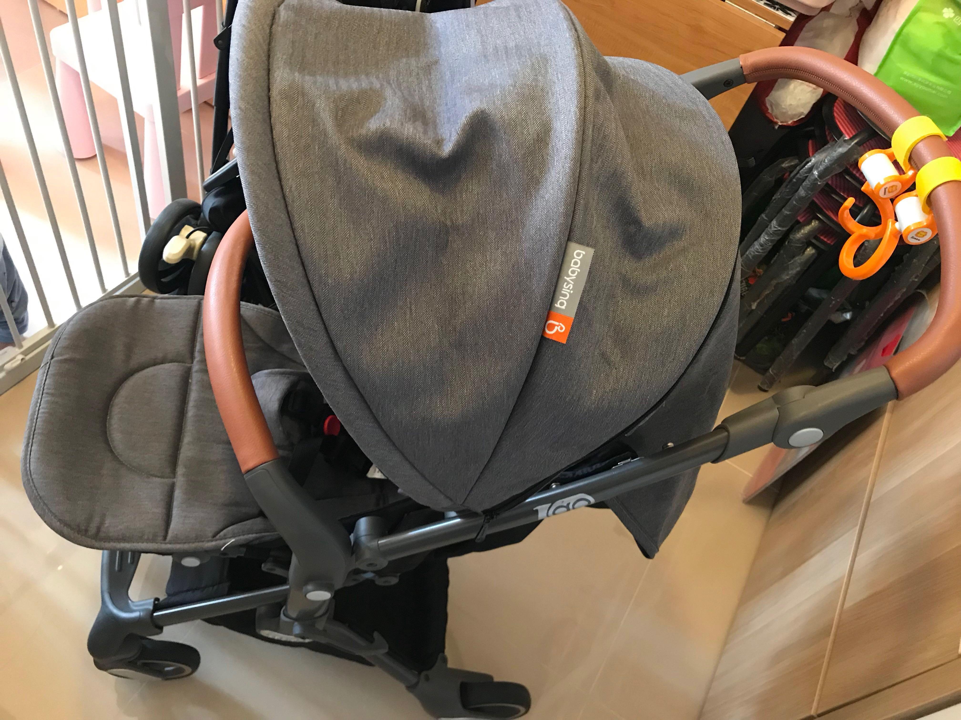Babysing igo 法國高景觀減震升級雙向版嬰兒車