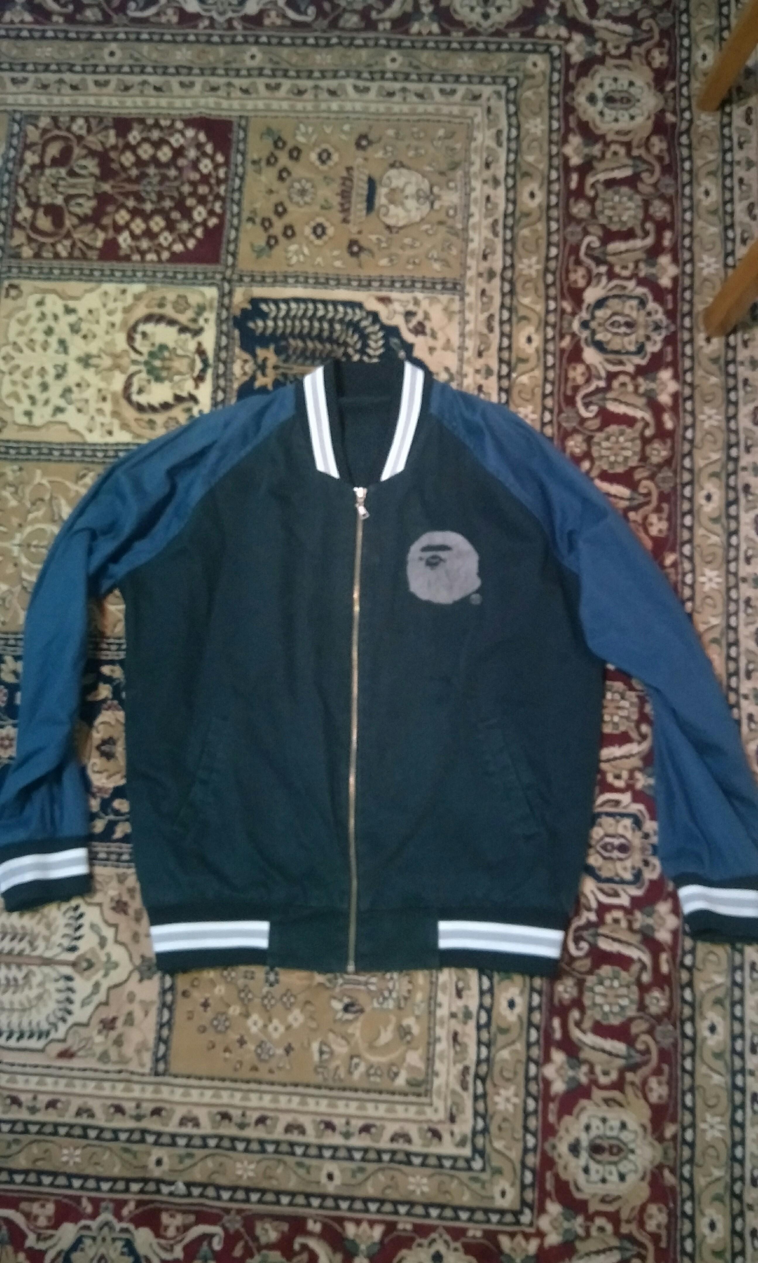 509f9c3bbe65 Bape varcity jacket anno 2001