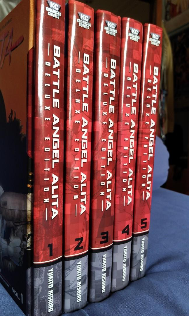 battle angel alita deluxe edition 3