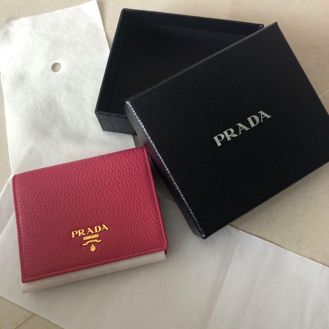 484f4a1a Bifold Prada Wallet