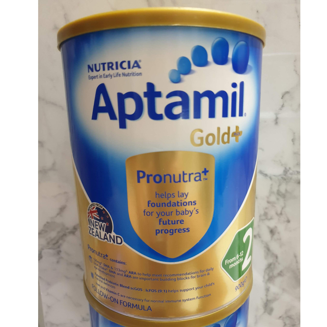 BN Aptamil Gold+ 2 Follow-On Formula (6-12Mths) 900g