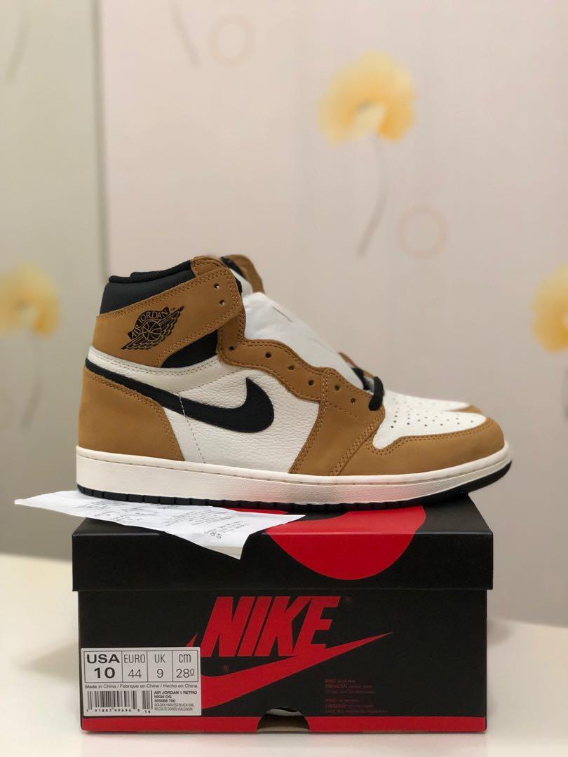 OG High Retro I Jordan Air Nike ROOKIE 1 YEAR THE OF