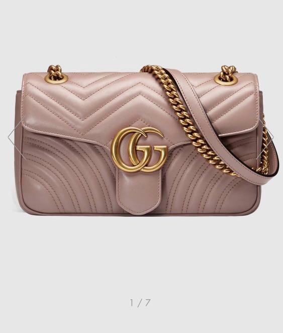 851e82cf549 BNWB  Gucci Small Marmont Matelasse Shoulder Bag