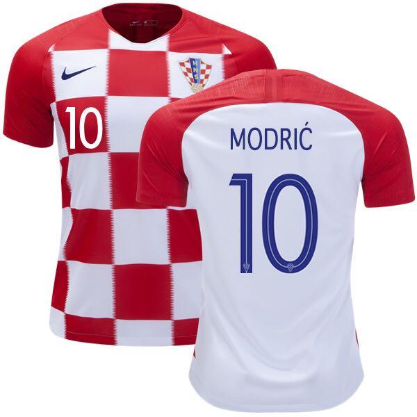 6e68f08f5 BNWT  Croatia World Cup 2018 Home Jersey with  Modric  Nameset ...