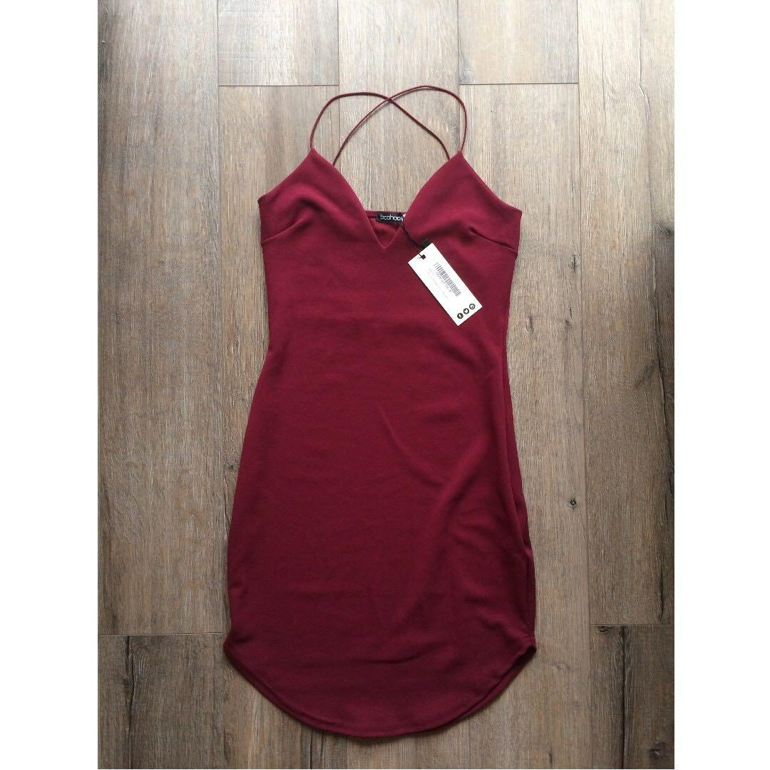 BNWT Red bodycon dress POSTAGE INCLUDED
