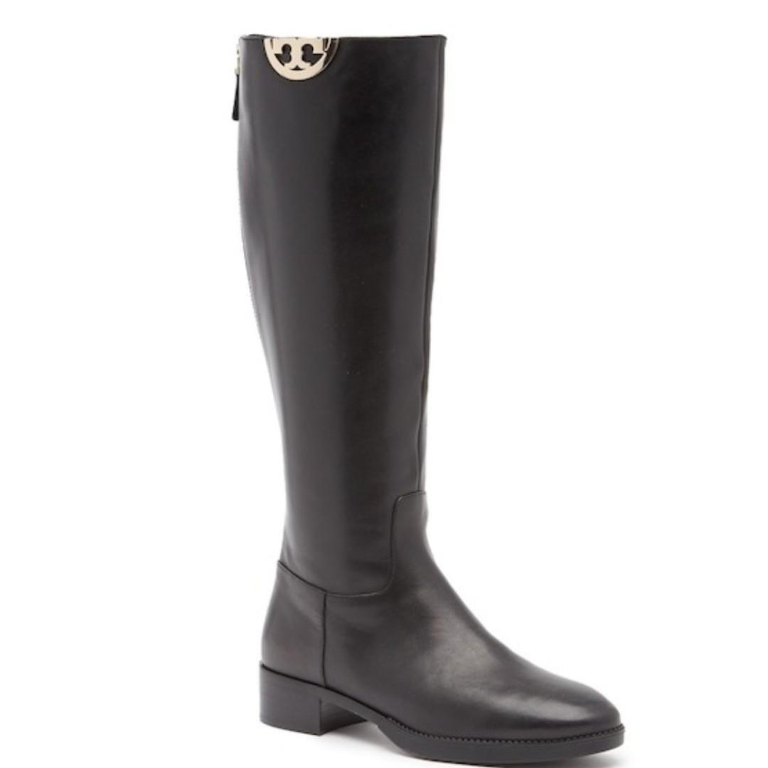 Brand new in box Tory Burch Sidney Boots - Size 8 Black