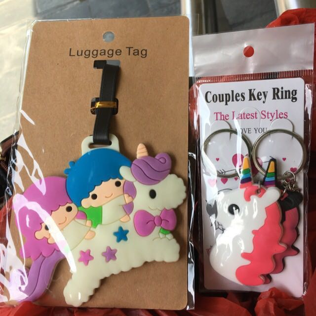 92999dd47 Brand new unicorn couples key rings keychains and little twin stars ...