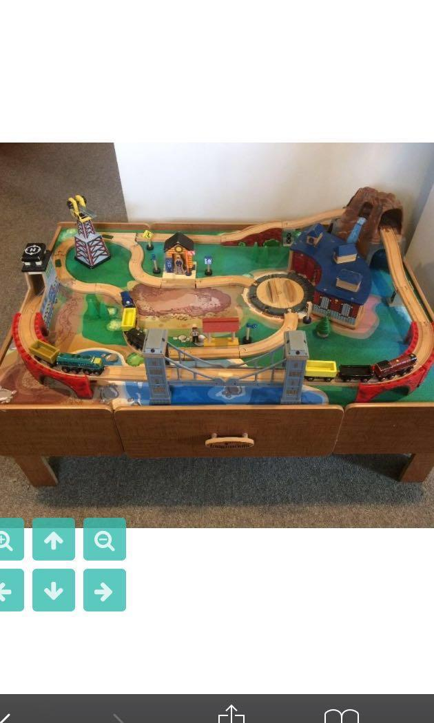 Buy From Usa Imaginarium Train Table Babies Kids Toys Walkers On Carousell