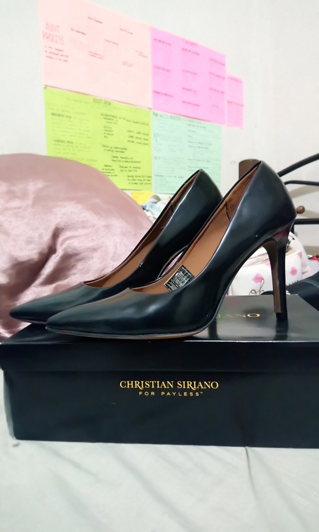 dd68141776d Christian Siriano Black Shoes High Heels by Payless