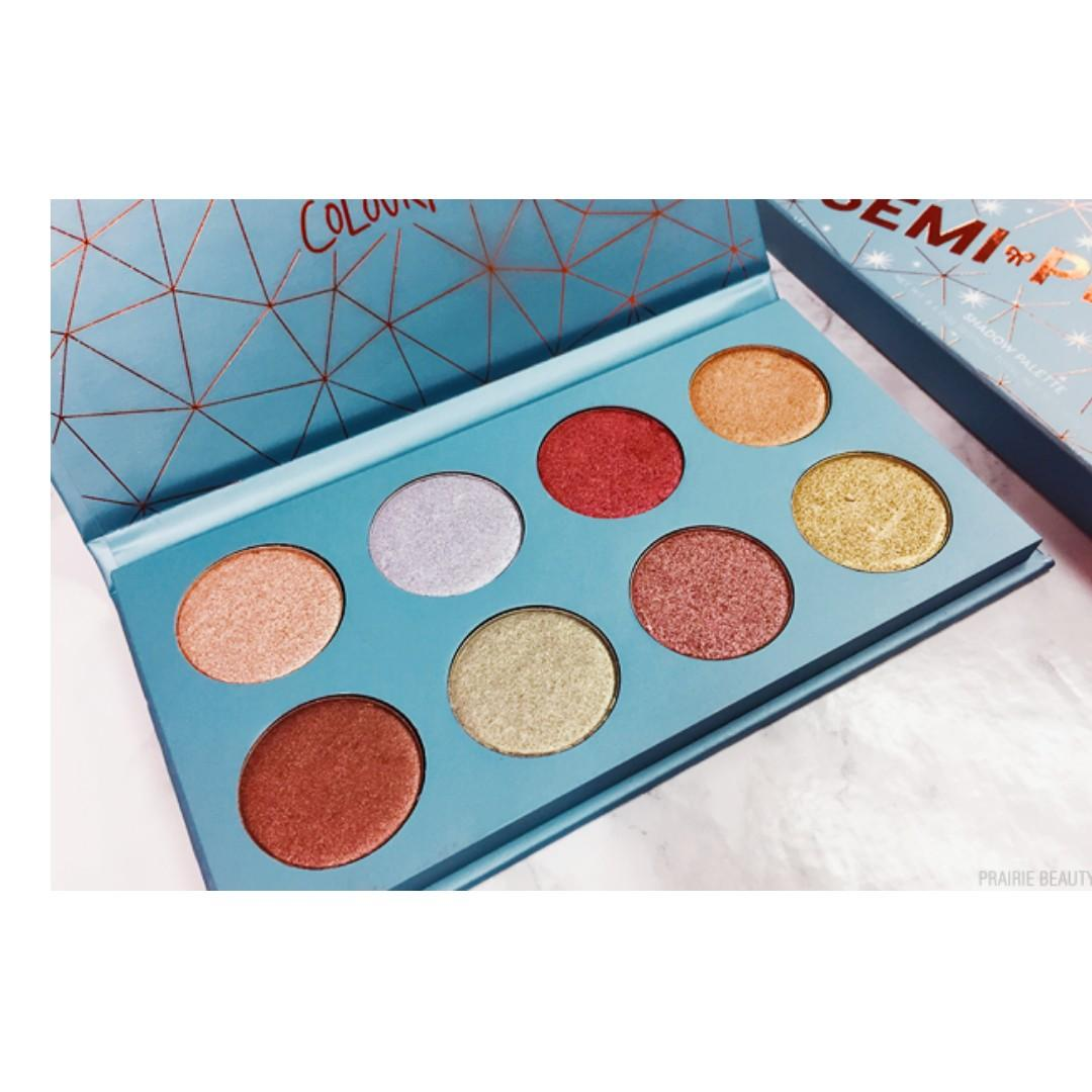 Colour pop SEMI PRECIOUS Palette BRAND NEW & AUTHENTIC (NO SWAPS, PRICE IS FIRM)