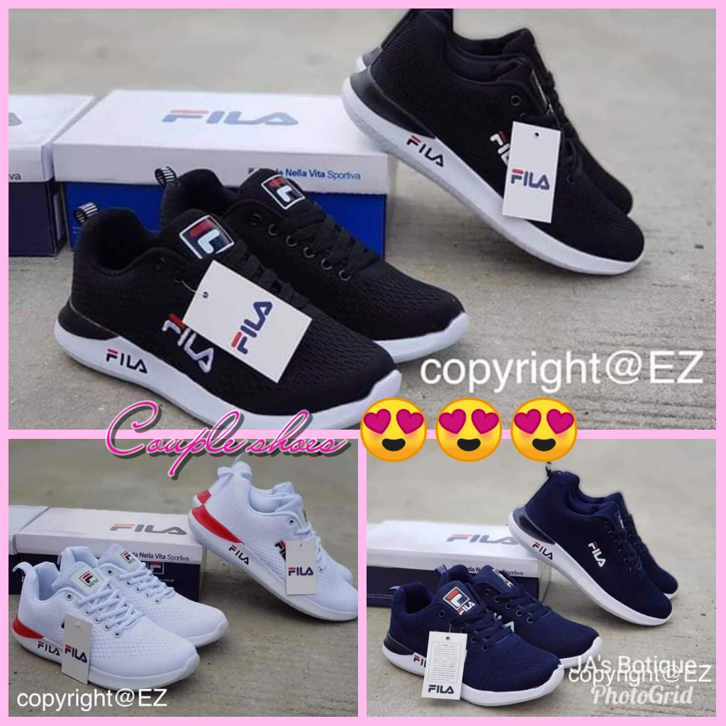 5603600e5712 Couple shoes Fila Zoom
