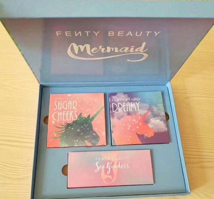 Fenty Beauty MERMAID Limited Edition matte/ metallic palette
