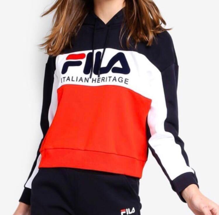 Fila Italian Heritage Hoodie, Women's Fashion, Clothes ...