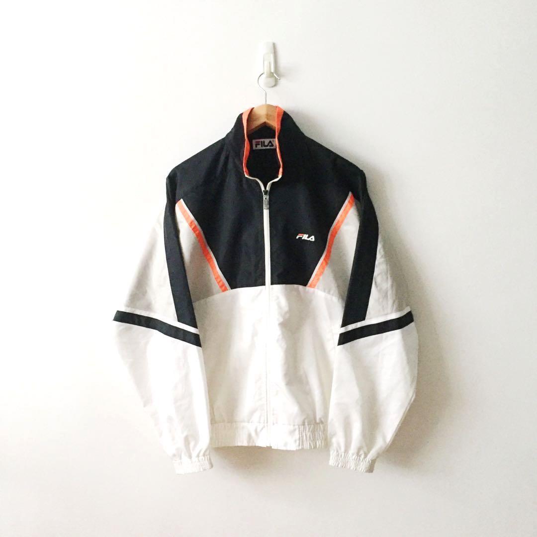 d4d958db404e Fila Vintage Rare Full Zip Windbreaker Jacket