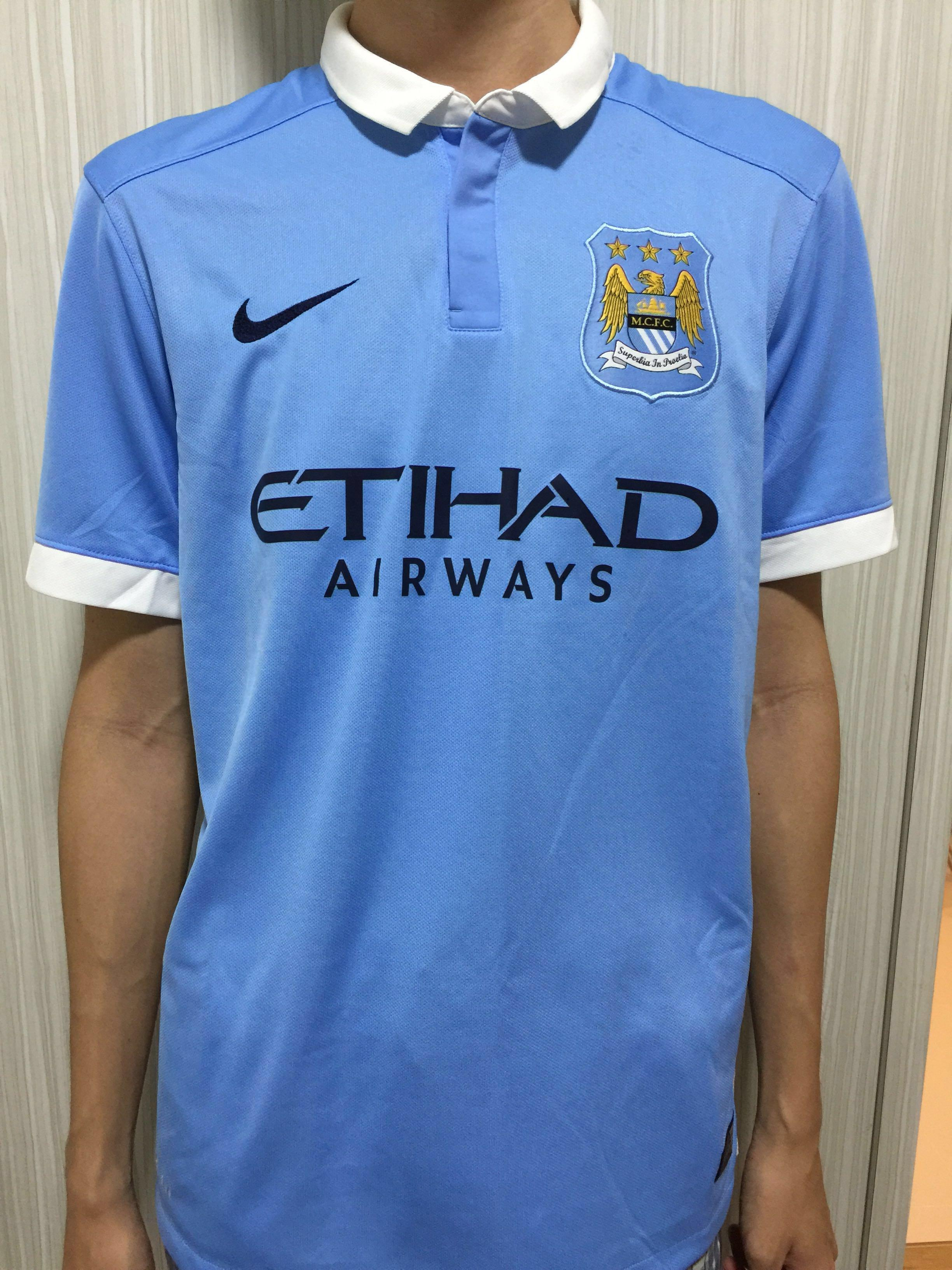 reputable site 0bce2 d400a Former Manchester City Jersey, Sports, Sports Apparel on ...