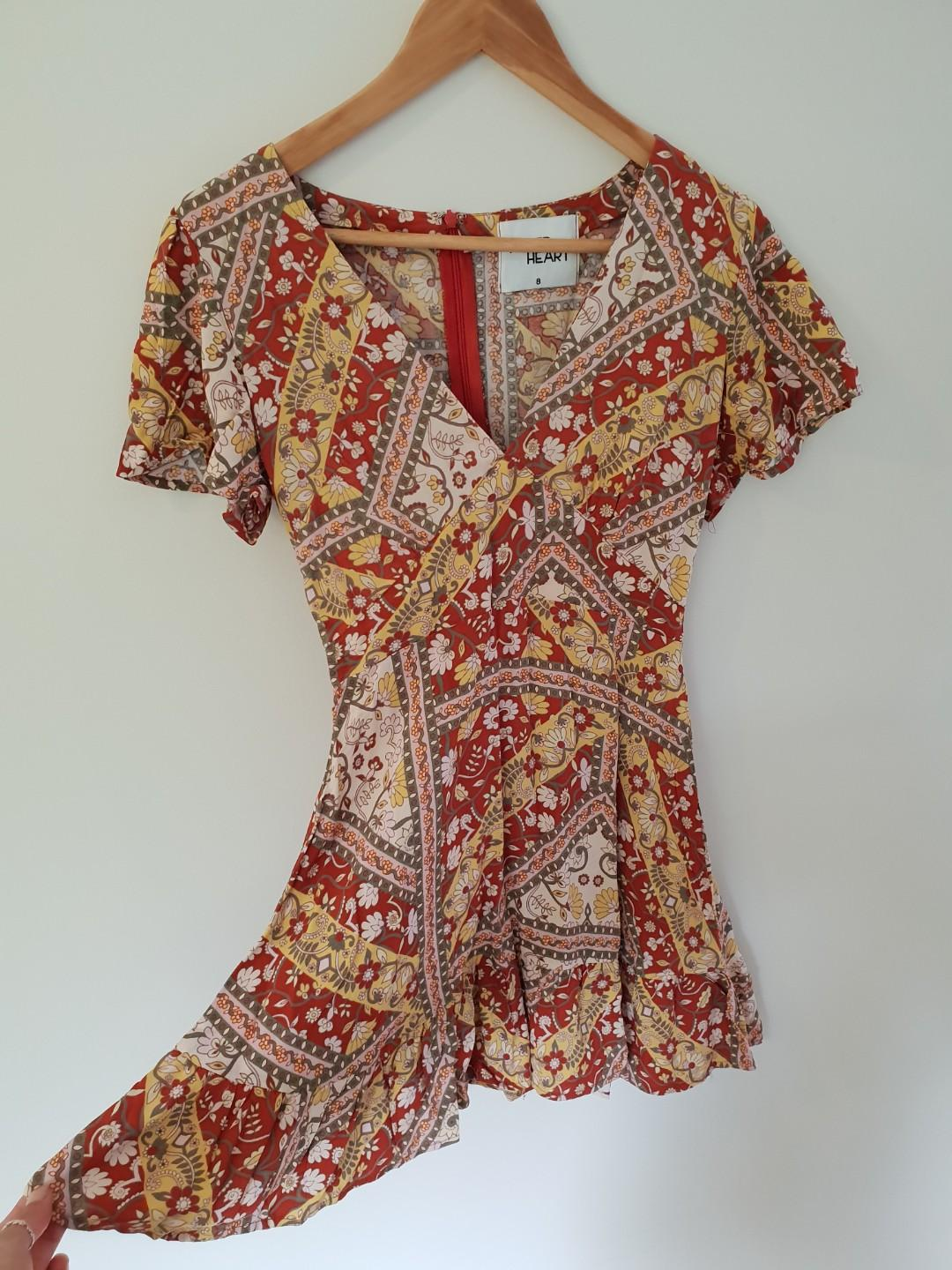 FORTUNATE ONE FLORAL SUMMER DRESS
