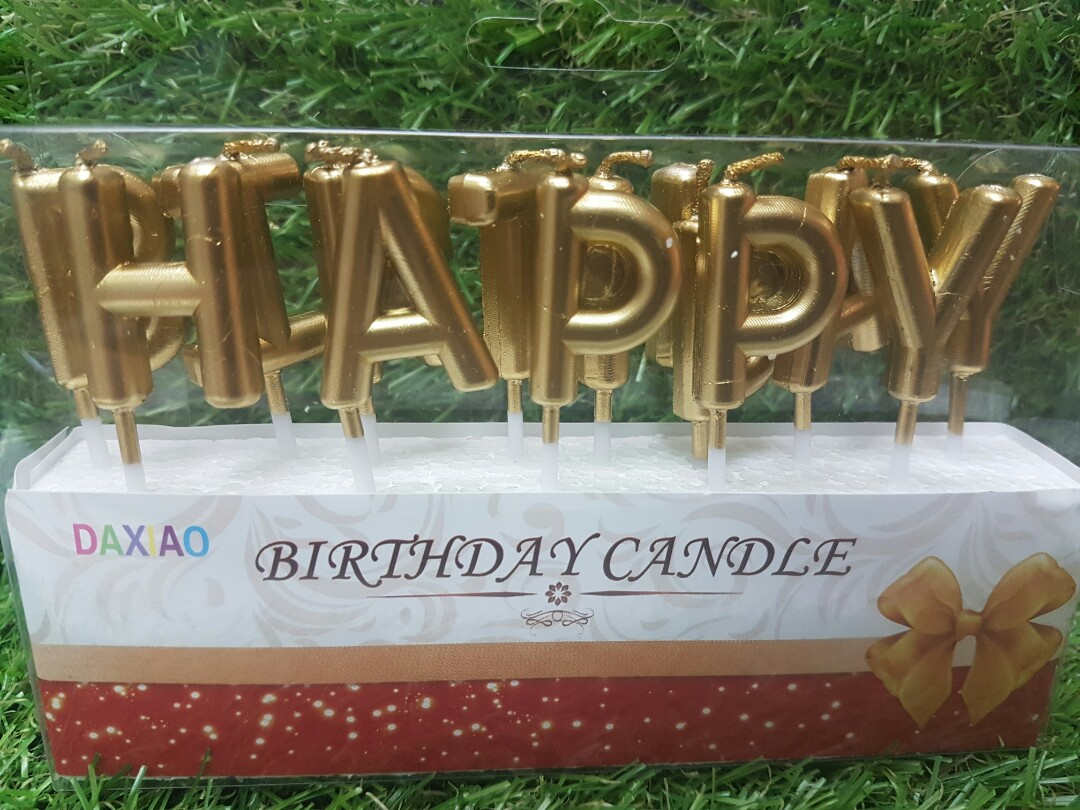 Happy Birthday Candle Everything Else On Carousell