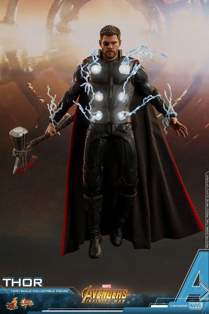 Hot Toys THOR Avengers Infinity War MMS474 MISB IN STOCKS