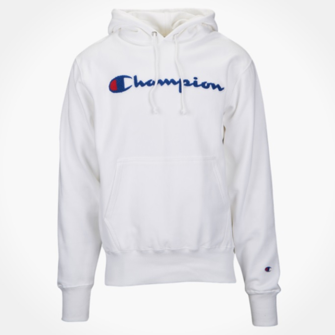 1f2c3d567c 🔥In Stock🔥 Champion Chainstitch Pullover Hoodie (White), Men's ...