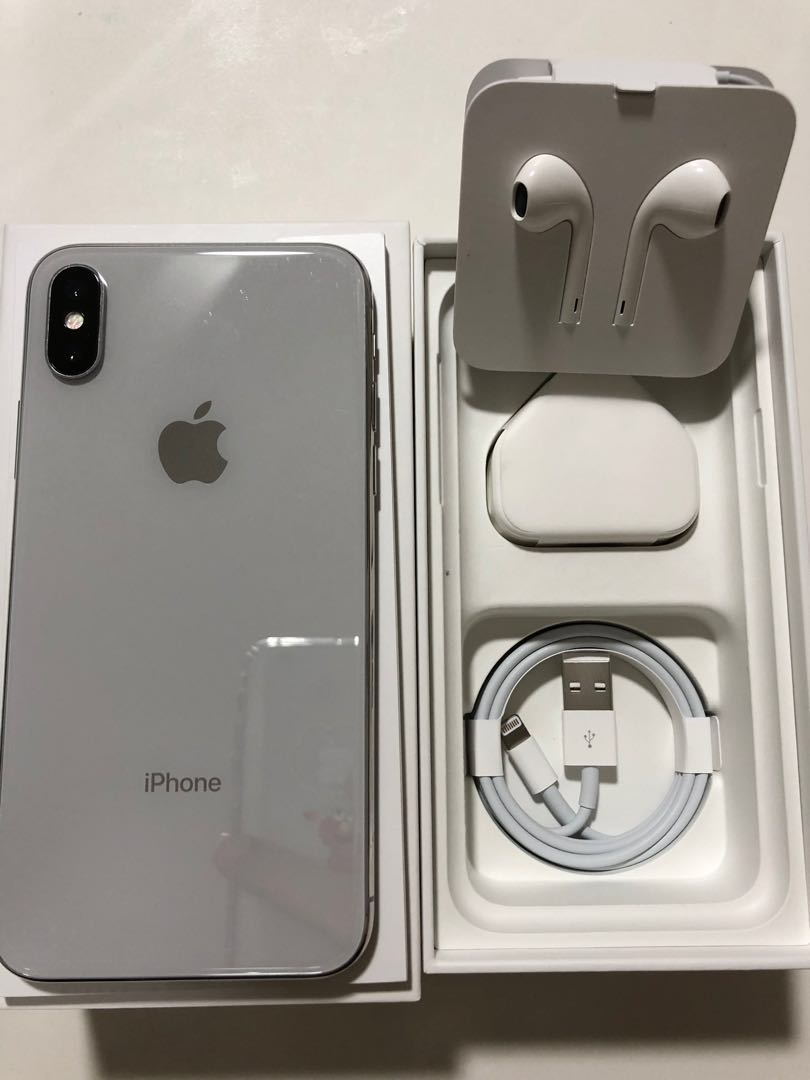 iPhone X Silver 256GB 2fa17a6438c