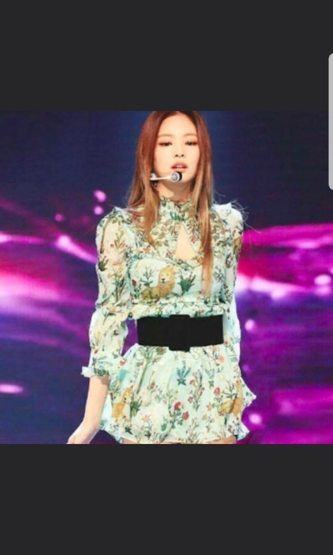Sales Jennie Playing With Fire Mint Floral Dress