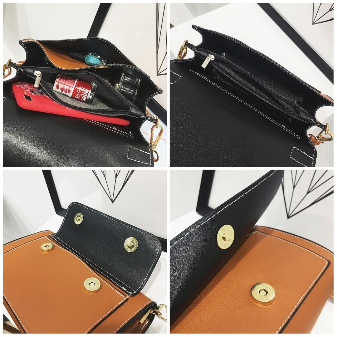 5f44f1641811 Korean Retro Sling Bag Shoulder Bag Crossbody Cross Body Travel ...