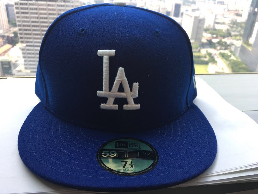 a8e28575 LA Dodgers Baseball Cap Snapback New Era (MLB Shop Original) Fitted ...
